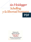 Heidegger - Schelling y la libertad humana.pdf