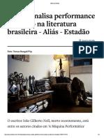 Alias.estadao.com.Br Noticias Geral,Ens...o Na Literatura Brasileira,70001737815