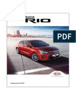 Kia Italy Rio Pricelist September 2017