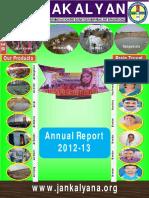 JANAKALYAN16AnnualReport2012-13
