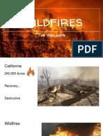wildfires slide