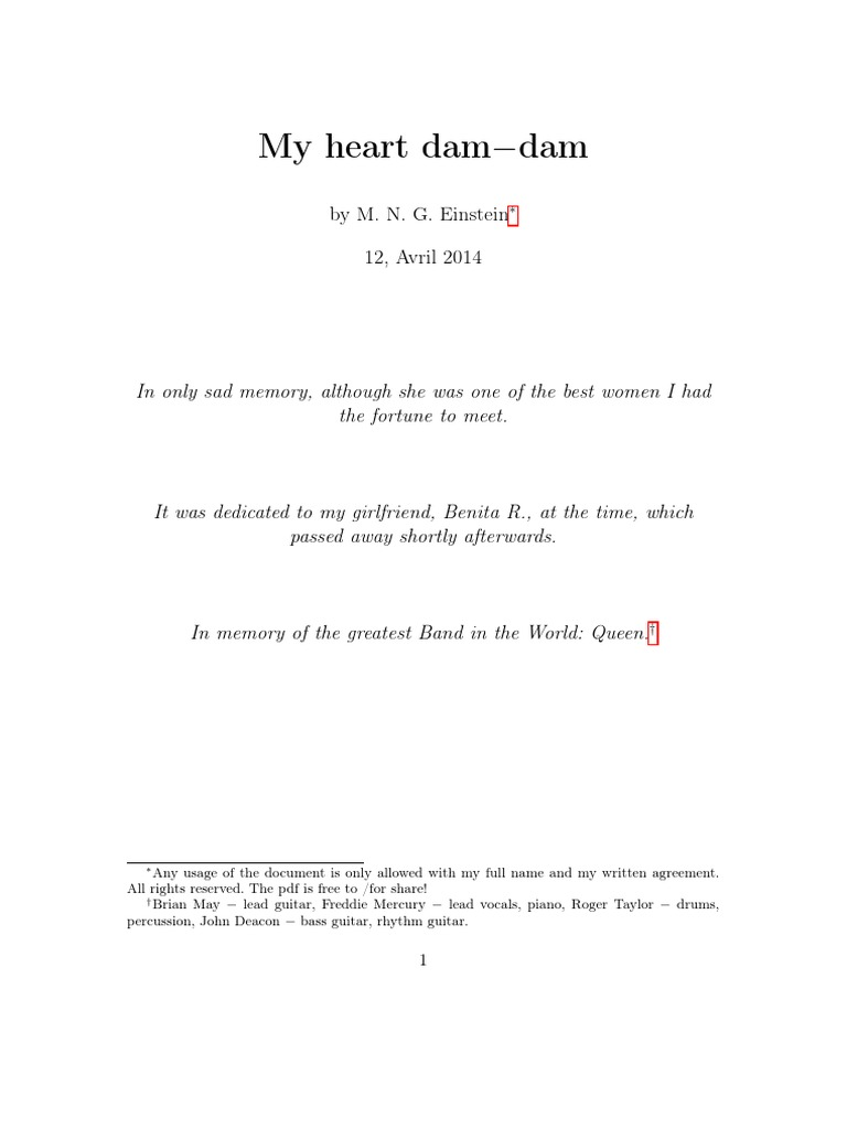 Heart Dam Dam A Love Song For My Dead Girlfriend Music Industry