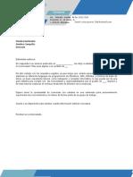 Carta de Presentacion 2017