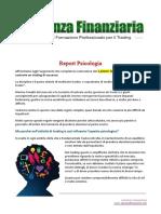 Report Psicologia Trading