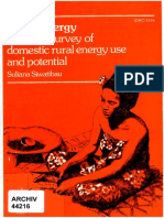 Reseach on Household Energy in Fiji from the 1980s by Suliana Siwatibau