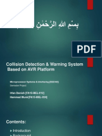 Collision Detection & Warning System Based on AVR Platform Presentation.ppt