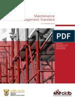 1. NIAMM Maintenance Management Standard