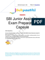 SBI Junior Associate Capsule