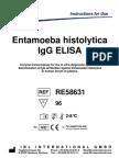 ELISA Entamoeba histolytica
