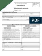 R-SST-13-V01 Orden Provisoria de Atencion