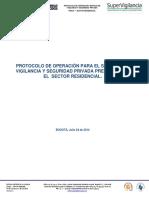Protocolo de Operacion Para El Servicio de Vigilancia y Seguridad Privada Prestados en El Sector Residencial (1) (3)