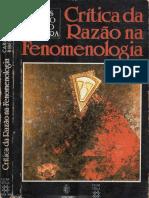 Carlos Alberto Ribeiro de Moura - Crítica Da Razão Na Fenomenologia