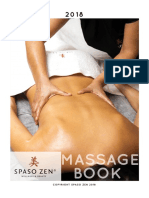 Massage Book Spaso Zen 2018