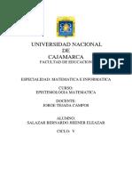Epistemologia Matematica