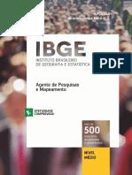 APOSTILA IBGE - AGENTE DE PESQUISA E MAPEAMENTO_VESTCON 2016_#concursadopublico.blogspot.com.br.pdf