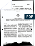 CIM 12- Phase Behavior and Scaled Model Studies of Prototype Saskatchewan Heavy Oils With Carbon Dioxide