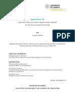 OpenClass.ch (Vincent WidMer, 2014)
