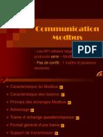 Communication Modbus
