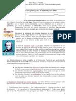 ORIGEN E IMPORTANCIA POLÍTICA Y ÉTICA DE LA DUDH Y DE LA ONU (3º ESO)