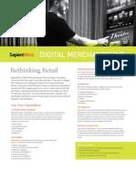 SapientNitro Digital Merchandising