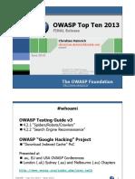 OWASP Top 10 - 2013 - Presentation - Christian Heinrich.pdf