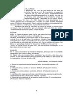 Tema Resumen Organizacic3b3n de Ideas y Comentario Crc3adtico de Los Girasoles Ciegos