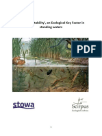 Rapport 'Habitat Suitability', an Ecological Key Factor in standing waters
