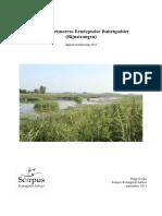 Rapport Herstel Rietmoeras Eendepoelse Buitenpolder (Rijnstrangen)