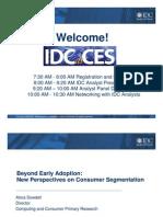IDC at CES 2009