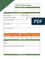 6.3 Formato de Planificación Del Cambio Excel