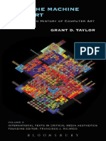 International Texts in Critical Media Ae Grant D Taylor-When the Machine Made Art the Troubled History of Computer Art-Bl