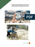3 Proyecto El Cambio Climático y Su Influencia en La Salud de La Poblacion Contamanina en La Provincia de Ucayali