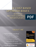Oracle Cost-Based Optimizer Basics