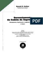 Gerenciamento da Cadeia de Suprimentos - Planejamento Organização e Logística Empresarial