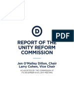 DNC Unity Reform Commission Report (2017)