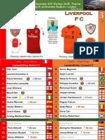 Premier League 171222 round 19 Arsenal - Liverpool 3-3