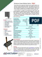 Actuonix+PQ12+Datasheet