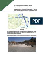 Informe de Estados de Proyectos de Agua y Deague