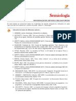 Semiología Bibliografía CIV 2018