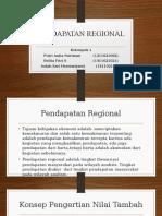 Ppt Pendapatan Regional