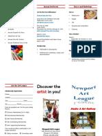 letterfold brochure aj