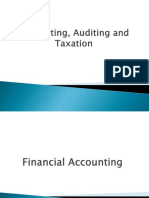Taxation and Internal Audit