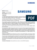 Principios Administrativos de Samsung
