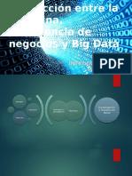 Interacción Entre La Medicina y Big Data