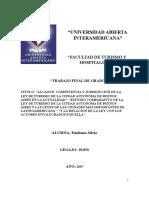 Ley de Turismo de La Caba