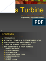 Gas Turbine Introduction Ppt
