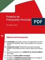 Proyecto de Presupuesto 20142