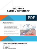 GEOKIMIA BATUAN METAMORF