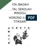 TATA IBADAH HORONG II, III & TITASARI 2017.doc