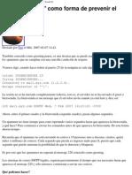 Prevenir El Spam - Ecualog